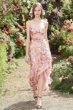 Rodarte Spring 2018 Ready-to-Wear Fashion Show - Ana Baryshnikova