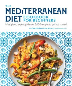 The only guide you'll need to get started on the authentic Mediterranean diet! Packed with guidance, menu plans, lifestyle advice, cooking tips, shopping lists and 100 delicious recipes! And the best part: this is the authentic Mediterranean diet. The book is based not only on science but my first hand experience with the diet I was raised on. #mediterranean #diet #cookbook #healthy #mediterraneandiet #menu #plan #recipes Mediterranean Diet Book, Easy Mediterranean Diet Recipes, Cookbooks For Beginners, Diets For Beginners, Diet Challenge, Diet Meal Plans, Meal Prep, The Fresh, Meal Planning