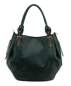 Look at this #zulilyfind! Green Seamed Hobo #zulilyfinds