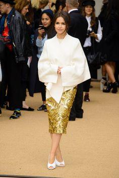 Miroslava Duma Photos - Versace : Front Row - Paris Fashion Week : Haute-Couture Fall/Winter 2014-2015 - Zimbio