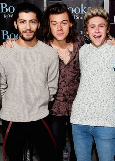 'One Direction: Who We Are' autobiography book signing in Park Royal Studios, London