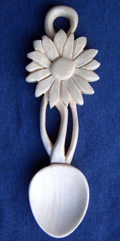 sunflower Love spoon