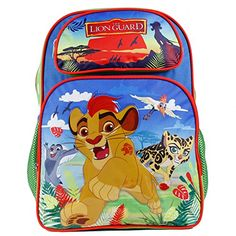 Disney The Lion Guard Kion Boys 16 Large School Backpack -- You can find more details by visiting the image link.