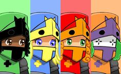 green castle crashers princess - Google Search