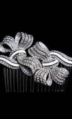 Wedding Dress Accessories - Tiara/Hair Accessory Stephanie Browne Serena $150 USD - New With Tags