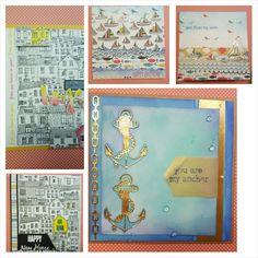 HandmadebyRenuka: 1kit- 10 and more cards SEASIDE MEGA PACK from Love from Lizi Intermediate level