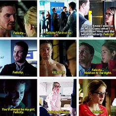 Arrow - Felicity and Oliver #Olicity ♥