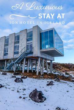 Ion Luxury Adventure Hotel, Iceland  #Travel #Hotels #Iceland