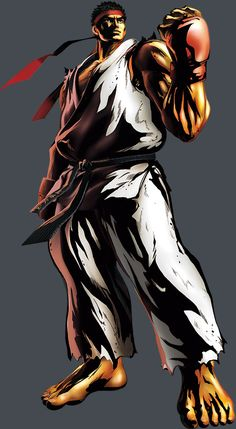 Street Fighter - Ryu by Shinkiro *