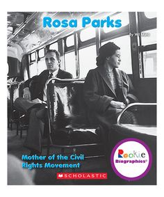Loving this Rosa Parks Paperback on #zulily! #zulilyfinds