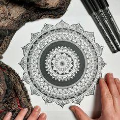Black And White, Mandalas, Creativity, Artists