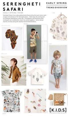 Emily Kiddy: Spring | Summer 2018 _ Serengheti Safari (Trend Ov...