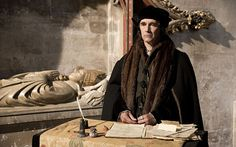 Wolf Hall: behind the scenes of the BBC's Hilary Mantel adaptation with Damian Lewis and Mark Rylance - Telegraph, Rylance as Thomas Cromwell, from whose point of view the story is told. 'I can't imagine there ever being another job like it, where you're in every scene, pretty much,' he says. PHOTO: Giles Keyte
