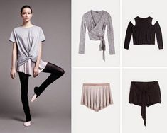 The latest dancewear and high-ranked leotards, jazz, faucet and ballet footwear, hip-hop clothing, lyricaldresses. Ballet Inspired Fashion, Ballet Fashion, Dance Fashion, Ballet Workout Clothes, Ballet Clothes, Tutu Ballet, Ballet Wear, Ballerina Shoes, Hip Hop Outfits