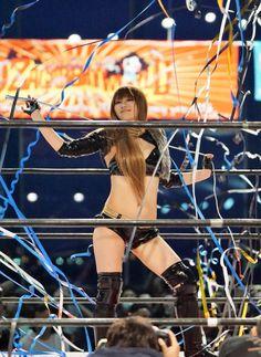 Japanese female wrestler Maya Yukihi http://hubpages.com/sports/Japanese-Women-Wrestling-2