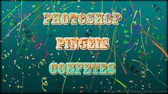 Pincéis (Brushes) de Confetes para Photoshop | Bait69blogspot