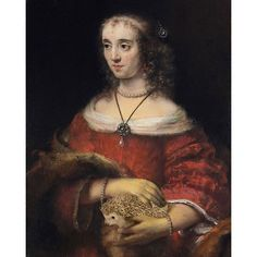 Rembrandt's 1661 Portrait of a Lady With a Hedgehog is a high point in Baroque…