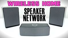 wireless home speakers - YouTube