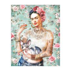 Dirty Lola: Modern Frida Print