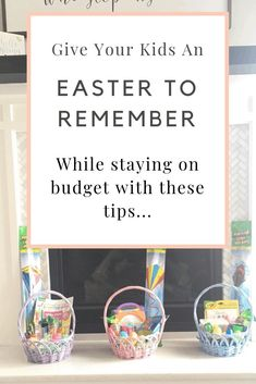 Save money on Easter this year by using these Dollar Tree Easter basket ideas! I was able to give my three kids the perfect Easter, for cheap! Easter Activities, Easter Crafts For Kids, Sweet Tart Jelly Beans, Cheap Easter Baskets, Easter Religious, Easter Traditions, Easter Bunny Decorations, Craft Stick Crafts, Diy Crafts