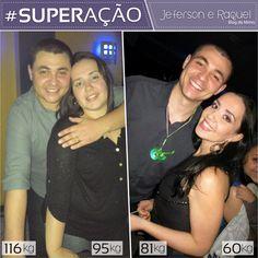 Superação Jeferson e Raquel- Blog da Mimis - Esse casal emagreceu junto 70kg! Vem ver essa historia linda e o antes e depois
