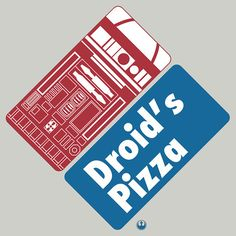 'Droid's Pizza' by FAMOUSAFTERDETH /// T-Shirt