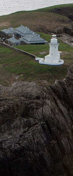 South Solitary Lighthouse on South Solitary Island, in Australia.