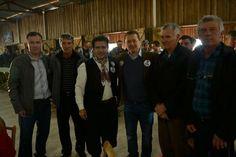 No sábado (9) à tarde, antes de inaugurar o comitê central em Porto Alegre, visitei a cidade de Chuvisca com o companheiro Pompeu de Mattos. Agradeço ao Clóvis e a todos os amigos e lideranças da região. Obrigado pelo apoio nesta caminhada. Agradecimento especial à família Zacher!