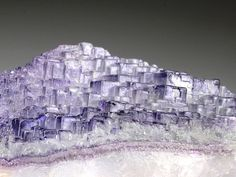 Fluorite - Komshejeh Mine, Ardestan County,... at Bijoux et Minéraux