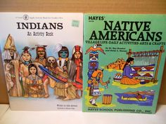 LOT Native American Daily Activities~Arts Crafts~Indian Activity Book Homeschool