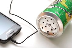 How to Make an MP3 Amplifier out of a Can