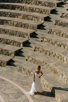 Give your wedding a Greek Theme, by posing at the spectacular stone built amphitheater at Mykonos Grand Luxury Resort Outdoor Stone, At The Hotel, Social Events, Grand Hotel, Hostel, Mykonos, Greek, Romance, Student