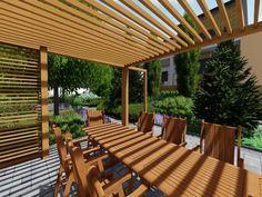 Návrhy a realizácie záhrad 🌿 Záhrada s ohniskom. 🌳🔥Súčasťou našej práce sú realizácie a návrhy záhrad taktiež aj rekoštrukcie existujúcich záhrad. 💪 Aktuálne je ideálne obdobie na plánovanie zmien a rekonštrukcií. Pergola, Outdoor Structures, Patio, Outdoor Decor, Home Decor, Decoration Home, Room Decor, Outdoor Pergola, Home Interior Design
