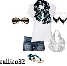 """""""Summer"""" by callico32 on Polyvore"""