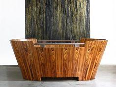 Desiderio wood tube by Raffaele de Angelis, Tempoperdue
