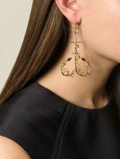 Natasha Zinko boucle d'oreille en or 18ct à design d'ancre