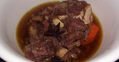 Filipino Beef Pares.