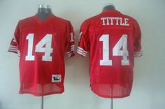 San Francisco 49ers 14 Tittle Jerseys