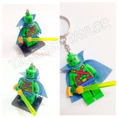 A personal favorite from my Etsy shop https://www.etsy.com/listing/215613272/lego-martian-keychain-lego-superhero
