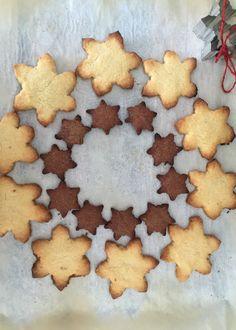Galletas de mantequilla para Navidad