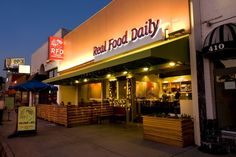 our new frontage on La Cienega Free Food, Real Food Recipes, Places Ive Been, Shed, Married Couples, Stony, Sunday Night, Restaurants, Dinners