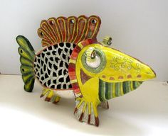 handbuilt clay fish - Google Search