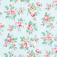 Oilcloth Fabric | Kingswood Rose Oilcloth | CathKidston