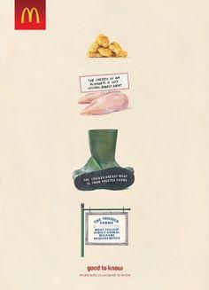 McDonald's: Chicken Advertising Agency: Leo Burnett, London, UK Executive Creative Director: Justin Tindall Creative Directors: Graham Lakeland, Richard Robinson Art Director: Ed Tillbrook Copywriter: Richard Ince Illustrator: Joël Penkman Designer: Marc Donaldson