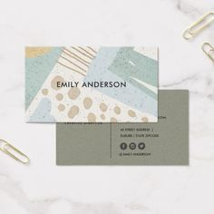 Ideas geometric art abstract graphics for 2019 Business Cards Layout, Cool Business Cards, Business Card Design Inspiration, Business Design, Corporate Design, Business Card Interior Design, Design Package, Name Card Design, Bussiness Card