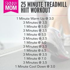 25 Minute Treadmill HIIT Workout