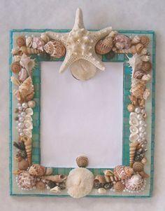 Beautiful shell mirror ♥