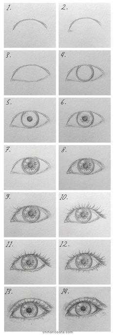 Easy Eye Drawing, Easy Drawing Tutorial, Realistic Eye Drawing, Eye Drawing Tutorials, Nose Drawing, Sketches Tutorial, Drawing Ideas, Eye Sketch Easy, How To Sketch Eyes