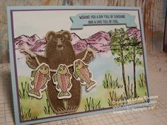 Bear Hugs, Stampin' Up! Occasions 2016, by Krista Thomas, www.regalstamping.com