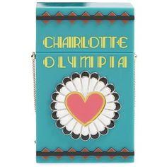 Charlotte Olympia 'Smokin'' Box Clutch